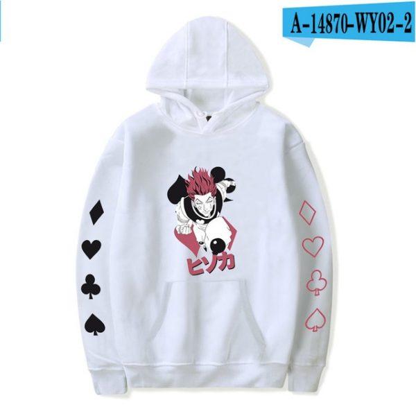 hisoka spider hoodie