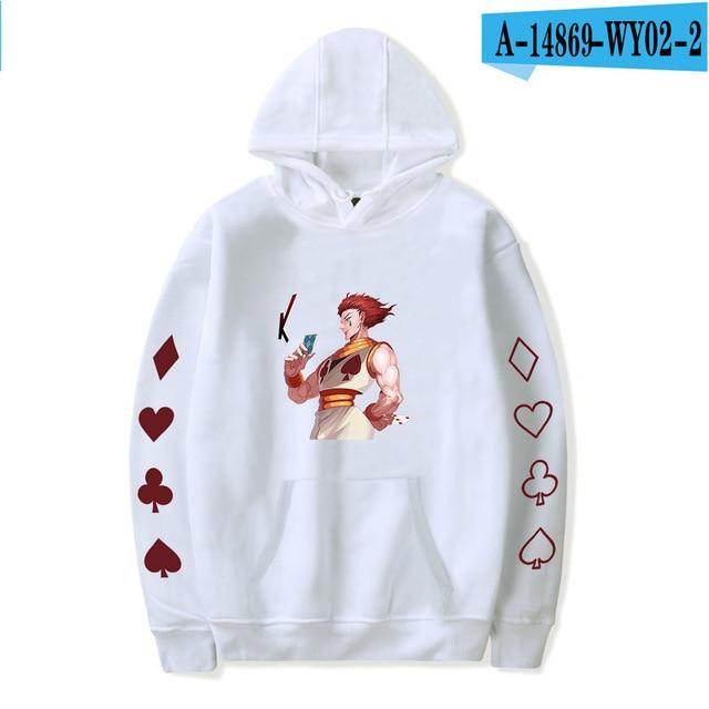hisoka 3d print sweatshirt