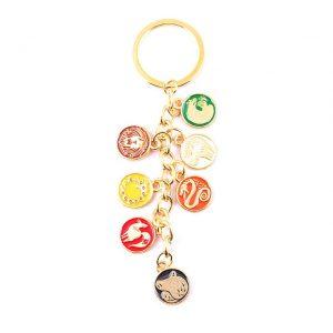 7 deadly sins keychain