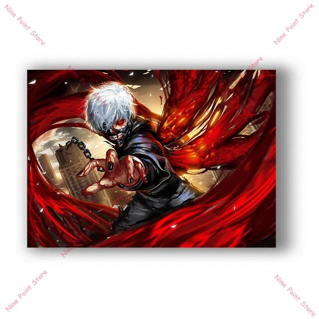 tokyo ghoul anime poster