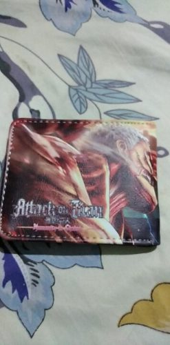 Attack On Titan Wallet photo review