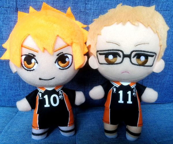 haikyuu plush