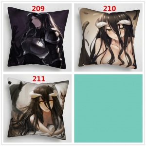 overlord albedo pillow covers