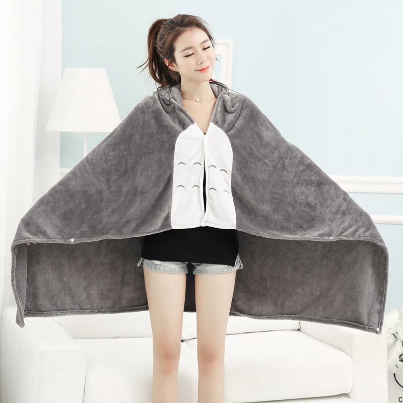 totoro bed blanket