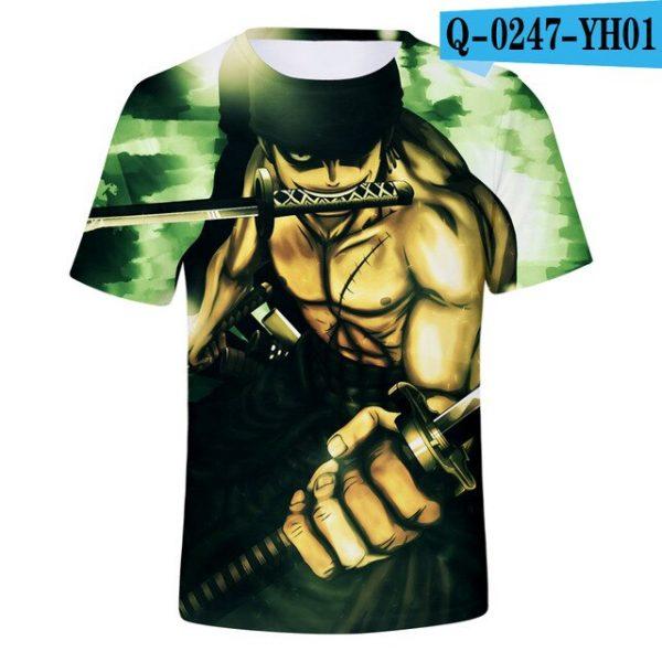 one piece shirt anime