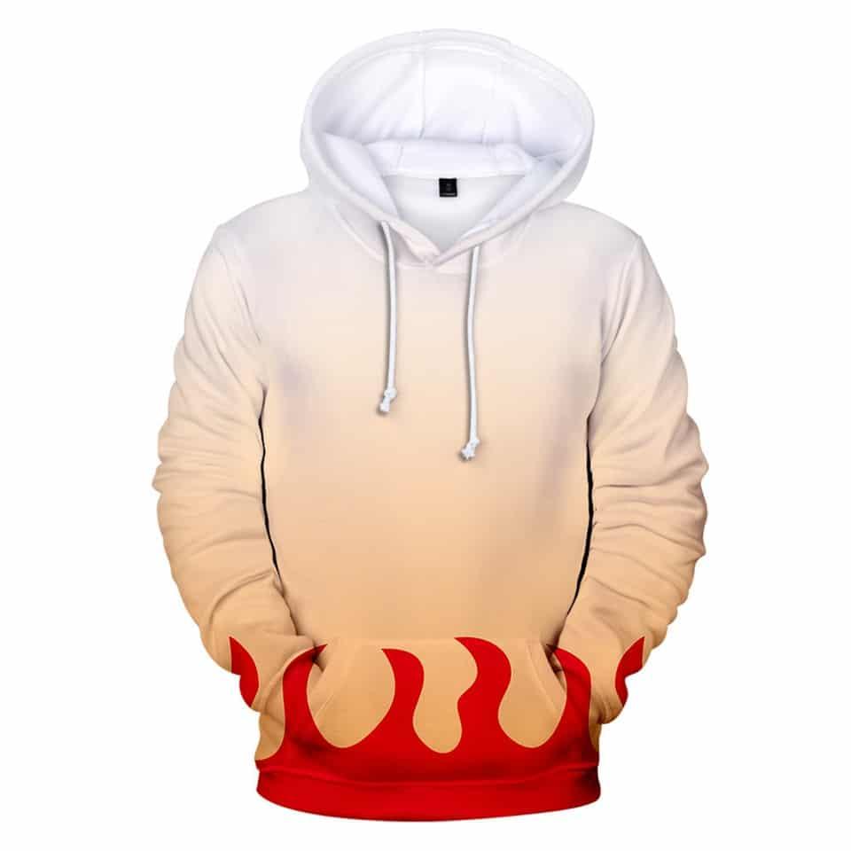 demon slayer hoodie zipper