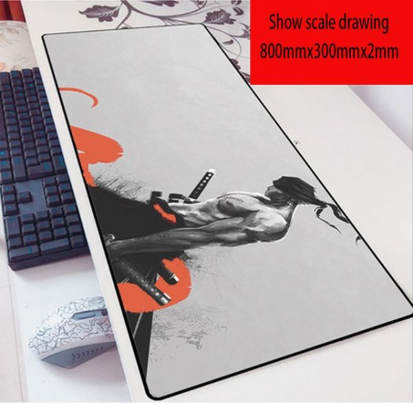 one piece zoro mousepad