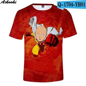 one punch man t shirt