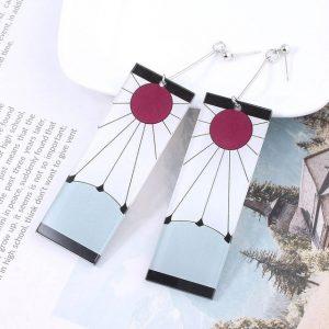 tanjiro earrings