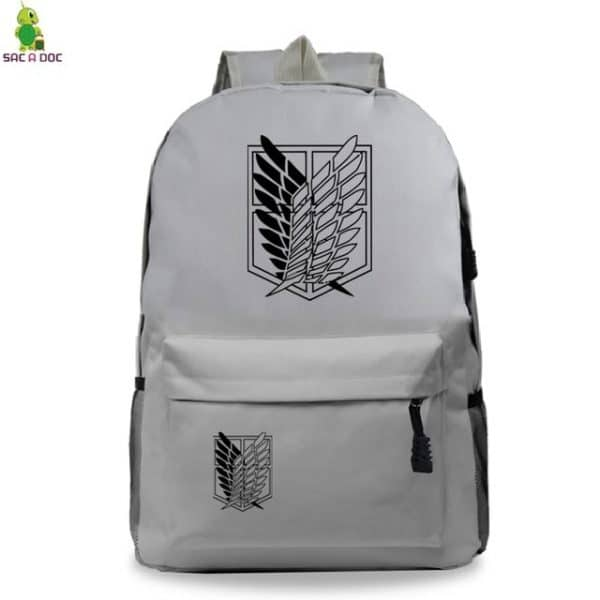 attack on titan levi backpack