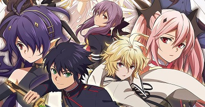 Seraph of the End vampire anime