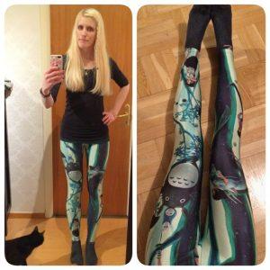 totoro leggings