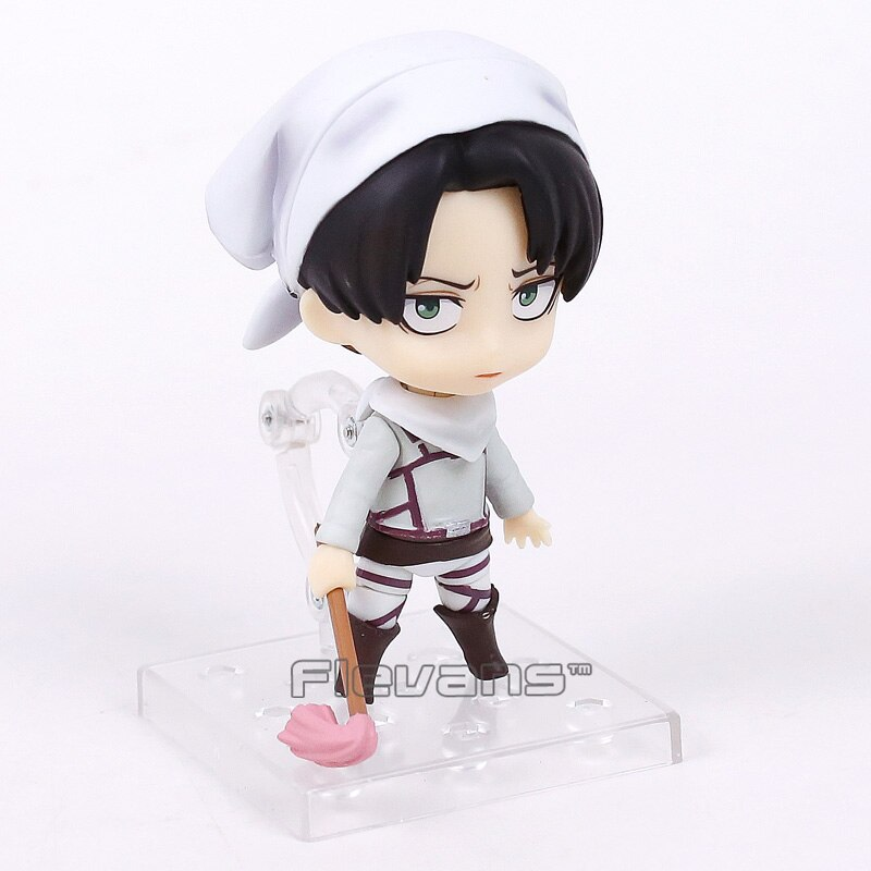 attack on titan levi cleaning figure