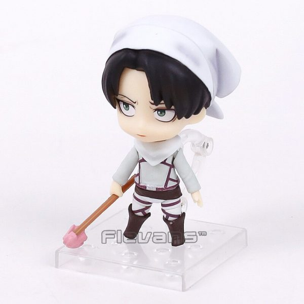 cleaning levi figure