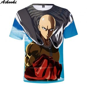 one punch man tee shirt