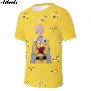 t shirt one punch man
