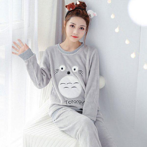 totoro christmas pajama