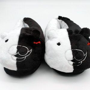 danganronpa monokuma slippers