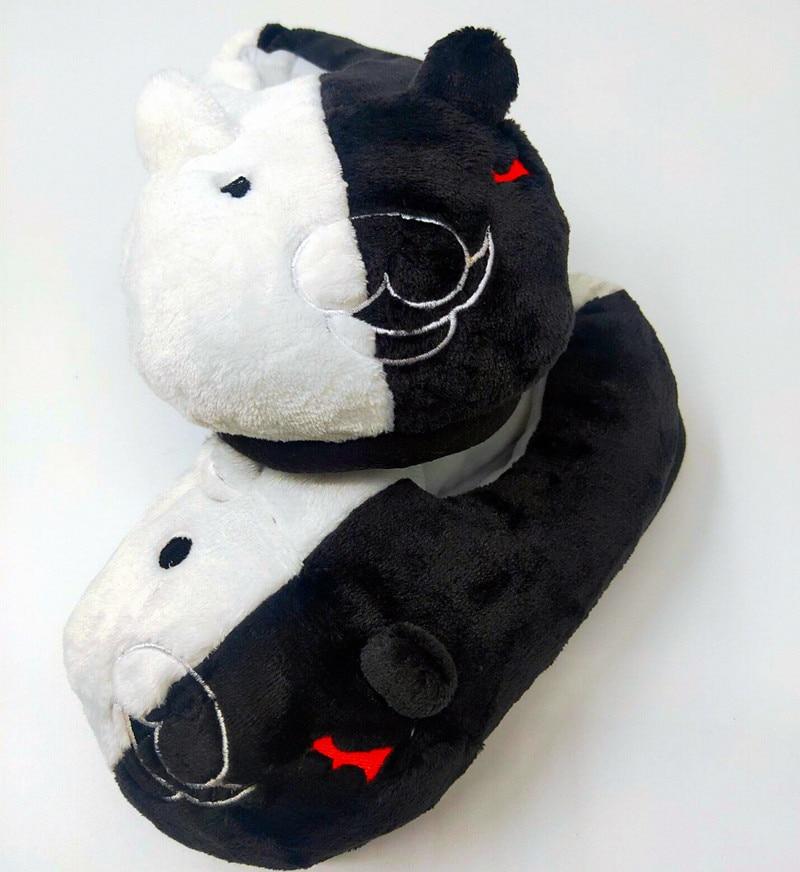 bear paw slippers monokuma