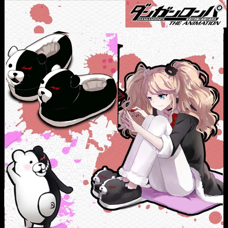 monokuma slippers