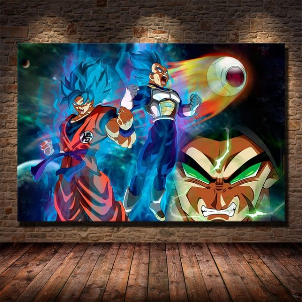 dragon ball z wall poster