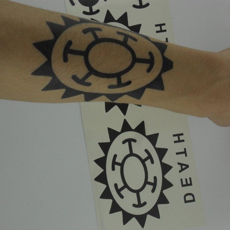 trafalgar law tattoo hand