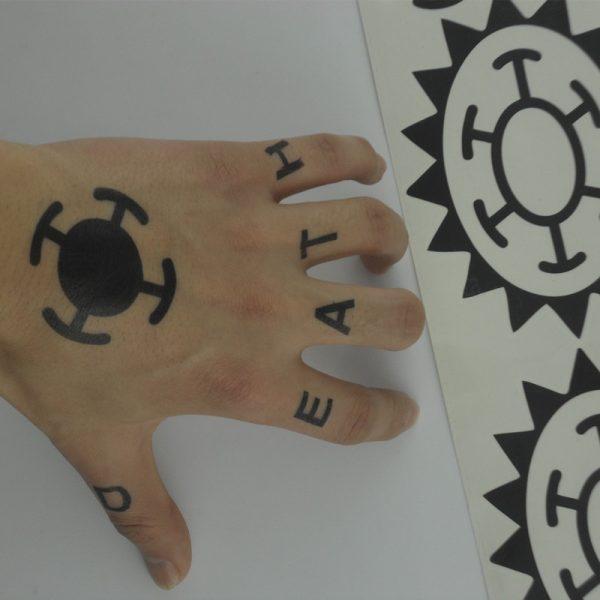 trafalgar law tattoo