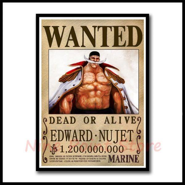 white beard poster