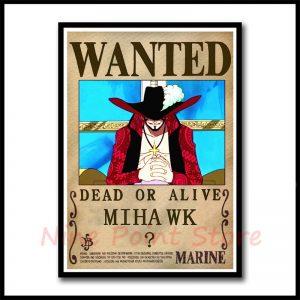 one piece bounty poster