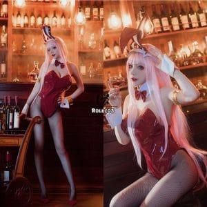 darling in the franxx zero two cosplay