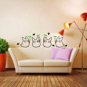 totoro wall decal