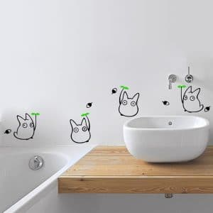 totoro wall decals