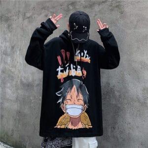 one piece anime sweater christmas