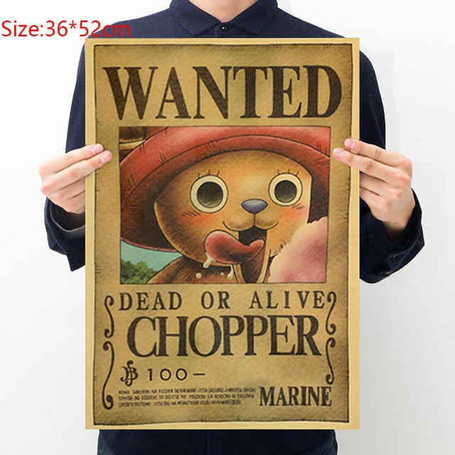 chopper wanted poster