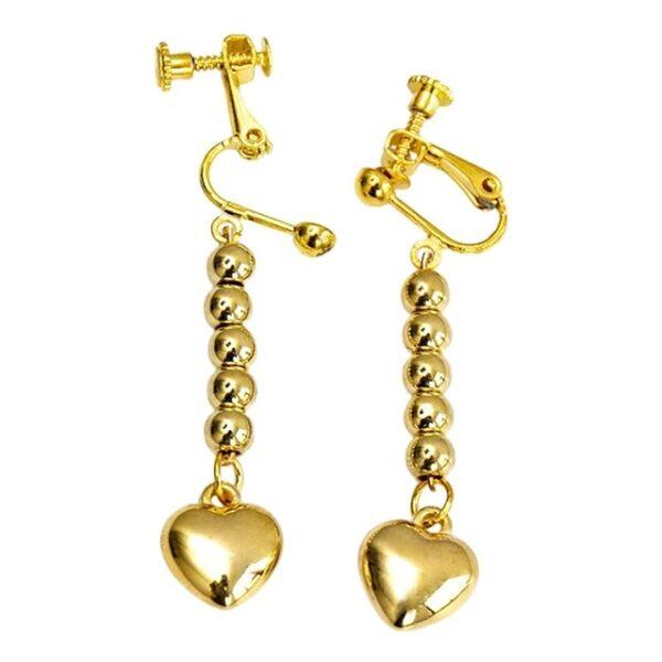 hisoka earrings gold