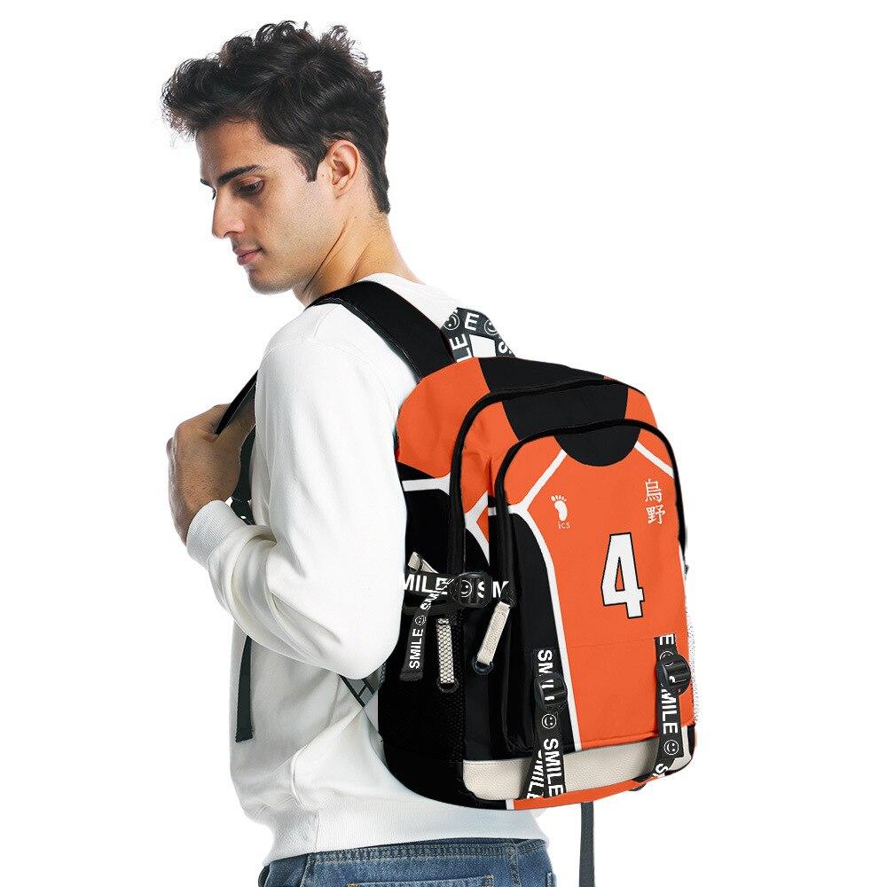 haikyuu karasuno backpack