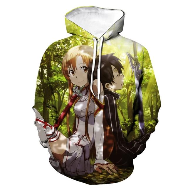 sword art online sweatshirt