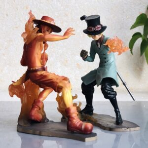 sabo and ace figure stampde