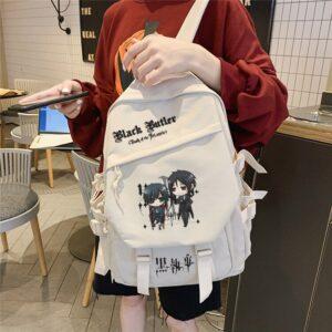 black butler canvas backpack