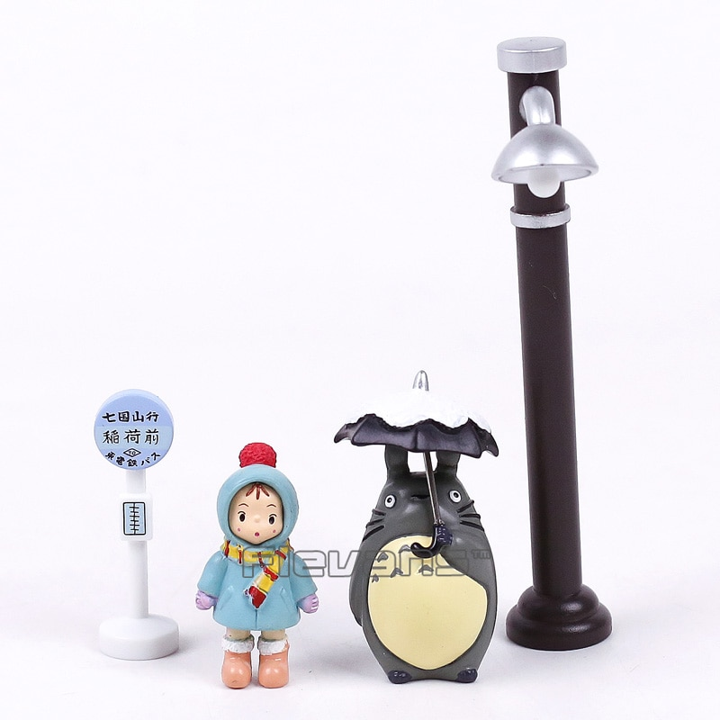 totoro umbrella figure mini