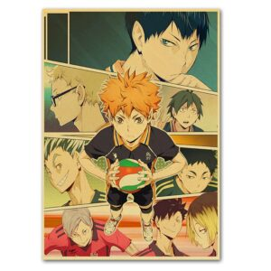 haikyuu anime poster