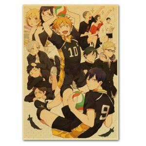 haikyuu season 2 poster