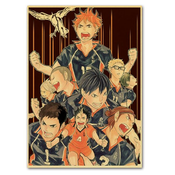 haikyuu season 3 poster