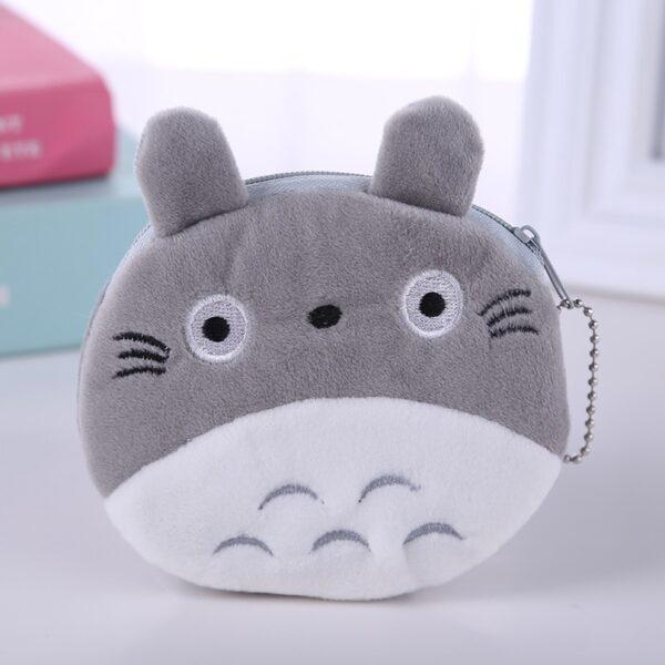 totoro crochet purse