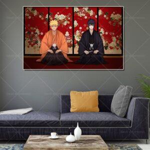 naruto wall scroll poster