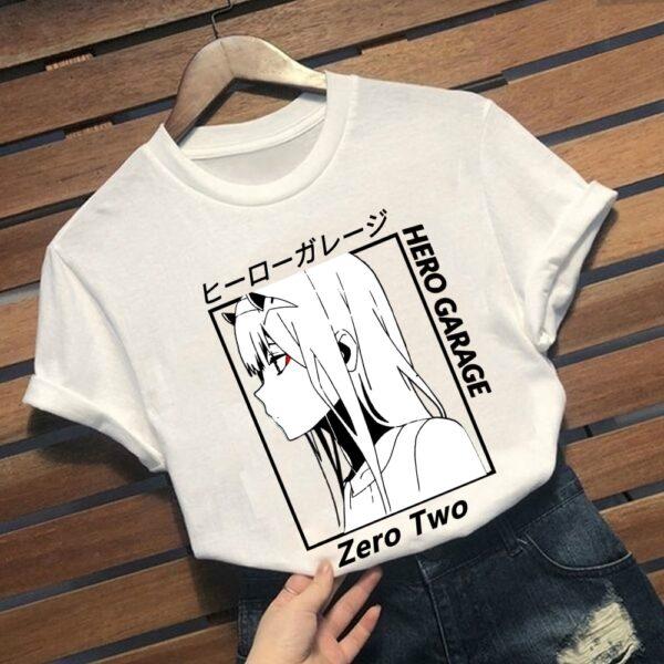 zero two t shirt