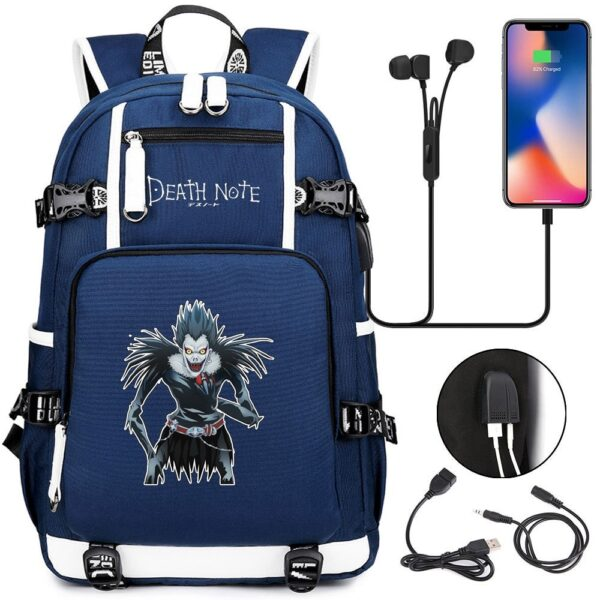 death note anime backpack