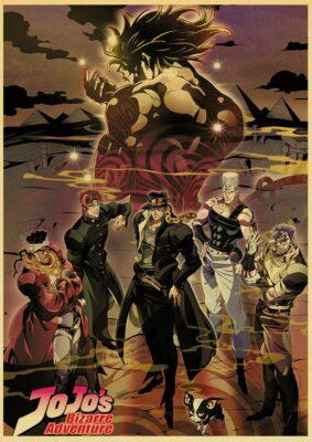 jojo bizarre adventure poster