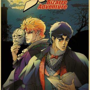 jojo's bizarre adventure wall scrolls