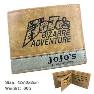 jojo's bizarre adventure wallet